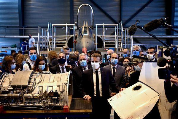 Mardi 8 septembre, Emmanuel Macron s'est rendu au lycée Roger-Claustres à Aulnat, près de Clermont-Ferrand.