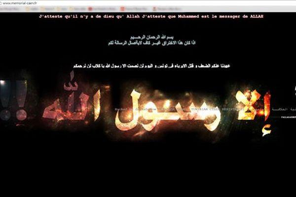 Le site du Mémorial de Caen a été piraté ce vendredi par un groupe islamiste