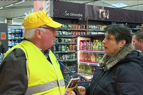 La coordination rurale dans les supermarchés