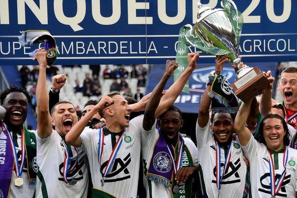 Saint-Etienne remporte la Coupe Gambardella après sa victoire sur Toulouse 2-0