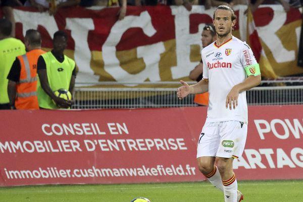 Guillaume Gillet sera encore lensois la saison prochaine.