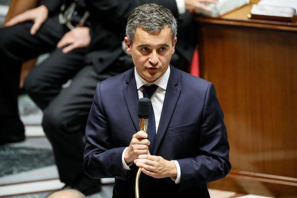 """Le ministre de l'Intérieur a qualifié ces propos de """"scandaleux et insupportables""""."""