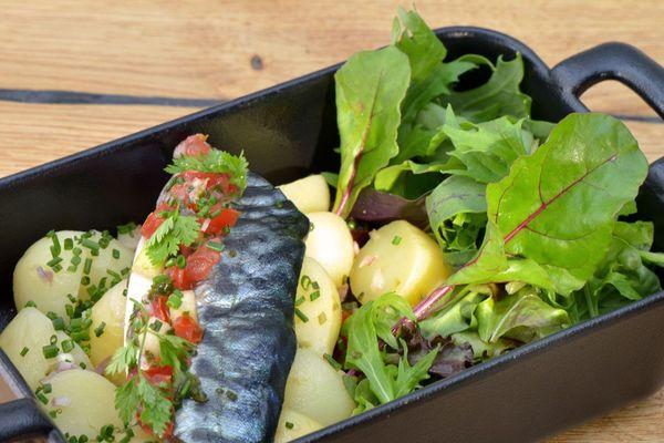 Que ce soit au restaurant gastronomique ou au bistrot, Nolwenn Corre travaille avec les mêmes producteurs locaux