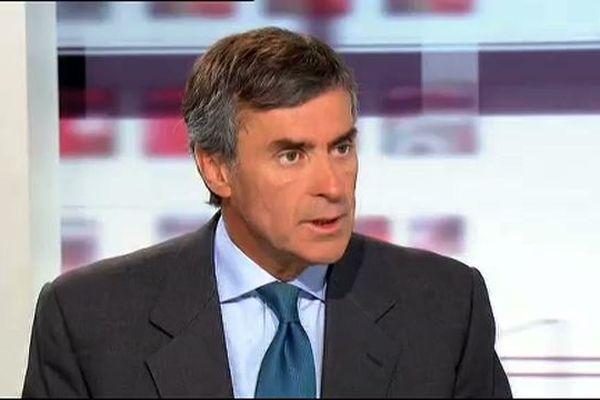 Alain Cahuzac sur le plateau de Télématin sur France2