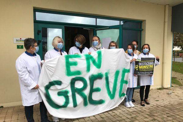 Tous les matins, depuis une semaine, les salariés de Boiron Brest passent à l'action