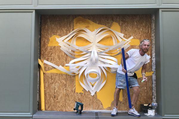 Le street art investit les commerces vacants de Limoges