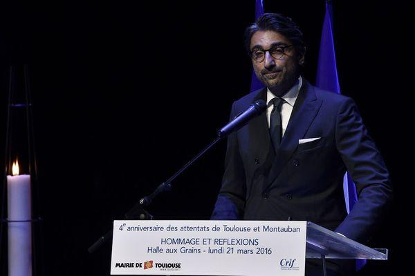 Franck Touboul, président du CRIF à Toulouse
