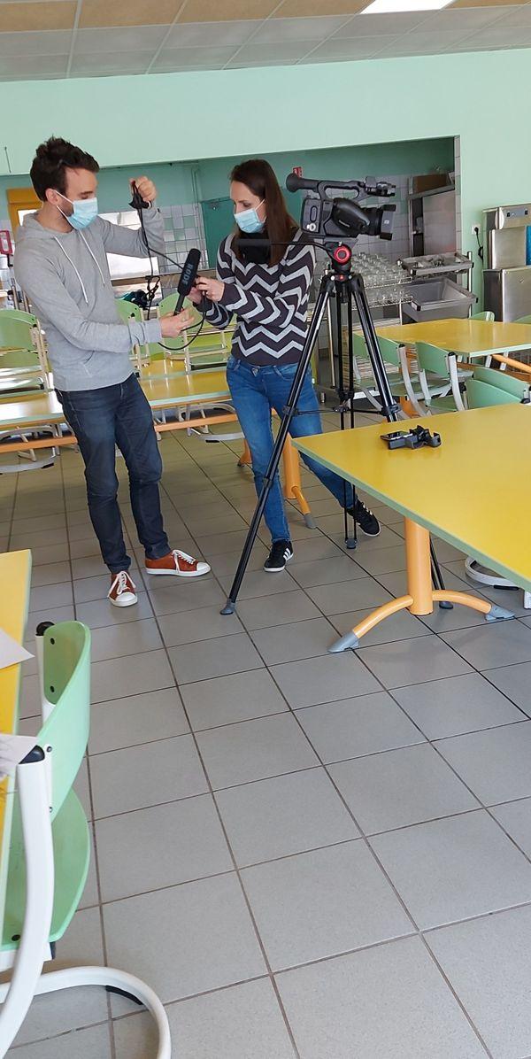 En tournage...