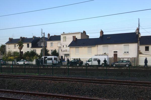 Evacuation du squat Doulon à Nantes le 15 octobre 2019