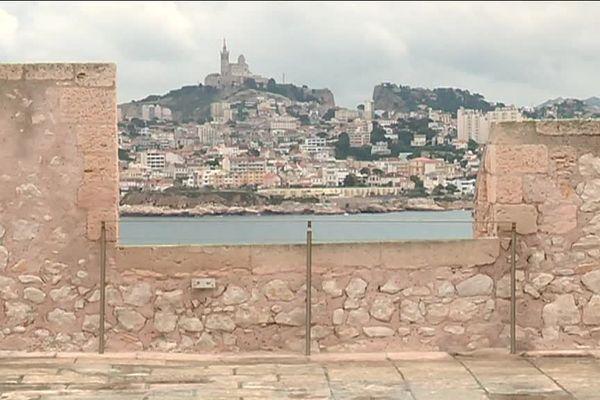 """""""Un amour de Graffiti"""" une expo à voir au chateau d'If, au large de Marseille, jusqu'au 4 novembre"""