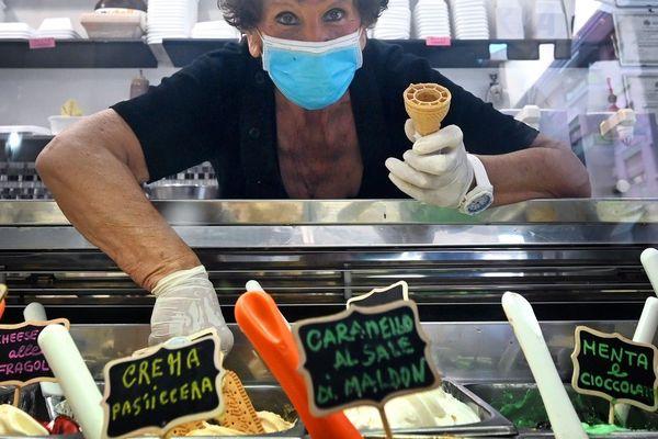 """Les """"gelati"""" font leur retour en Italie"""
