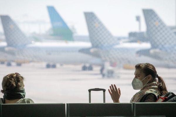 Aéroport international de Barcelone pendant Covid-19