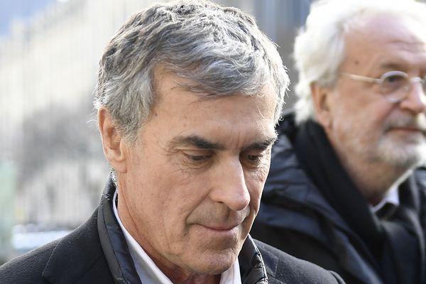 Jérôme Cahuzac lors de son procès en appel