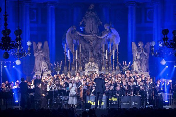 """Le """"Sacred concert"""" du Laurent Mignard Duke Orchestra en octobre 2014 en l'église de la Madeleine à Paris"""