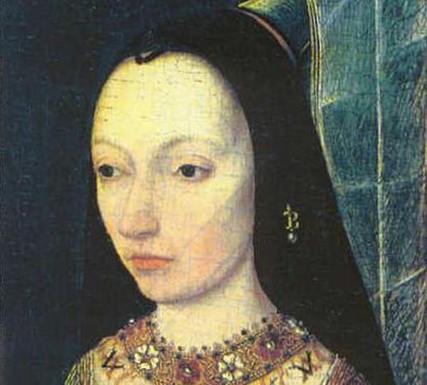 Marguerite d'York, duchesse douairière de Bourgogne.