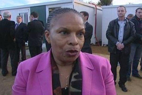 Christiane Taubira - Ministre de la justice, Garde des sceaux - 19 novembre 2012.