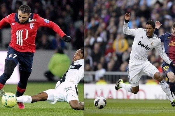 Dimitri Payet et Raphaël Varane, deux joueurs en pleine forme à ce stade de la saison.
