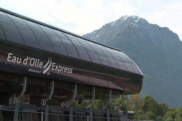 Le télécabine de l'Eau d'Olle Express recevra ses premiers visiteurs début décembre pour l'ouverture de la saison de ski.