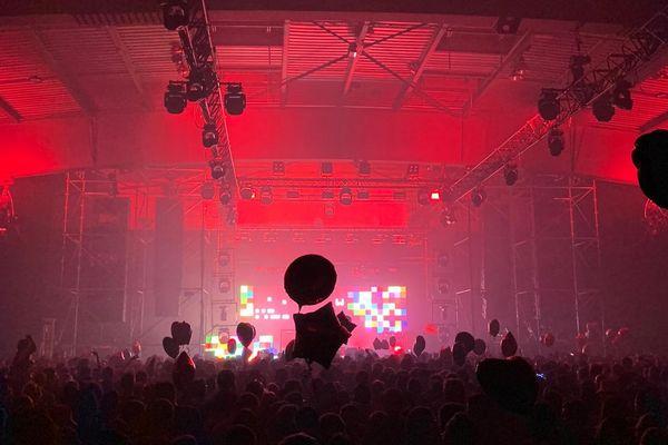Samedi soir, au Parc Expo de Montpellier, pour l'événement principal d'I love techno