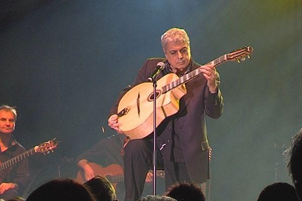 Enrico Macias, ce 9 janvier 2016 à Reims