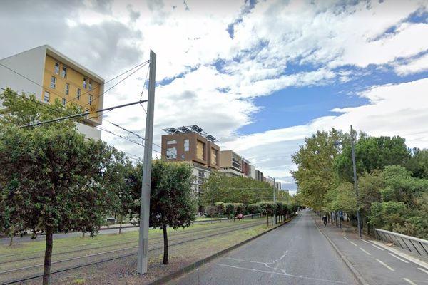 C'est sur cette avenue du Mondial 98 à Montpellier qu'a eu lieu le premier des deux accidents mortels.