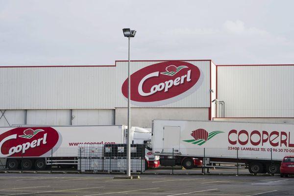 Le siège de la Cooperl à Lamballe.