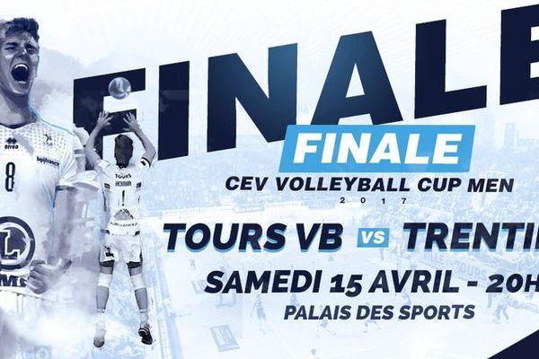 Nouvelle finale européenne pour le Tours Volley Ball