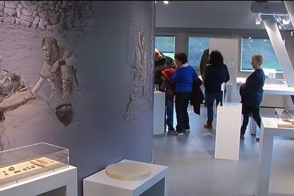 Le musée de préhistoire à Saulges en Mayenne a ouvert ses portes au public samedi 18 mars 2017