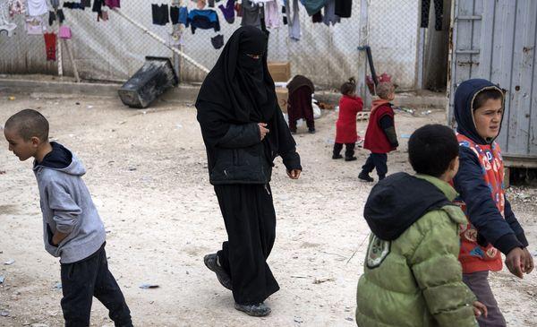 Camp syrien de Al-Hol, le 6 février 2019.