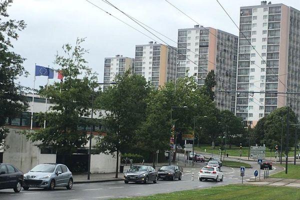 Brest : le quartier de Pontanézen