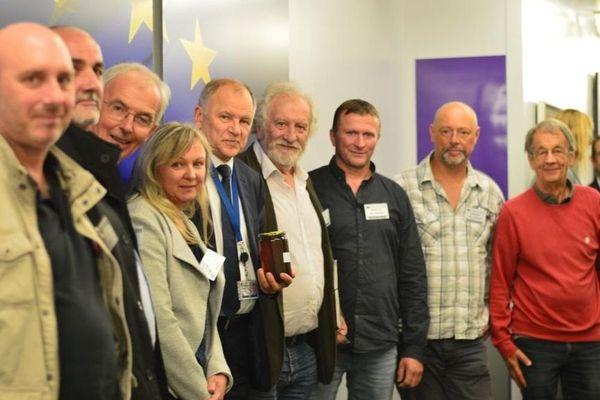 Le commissaire européen à la santé a reçu les ex-salariés Triskalia 17/09/18