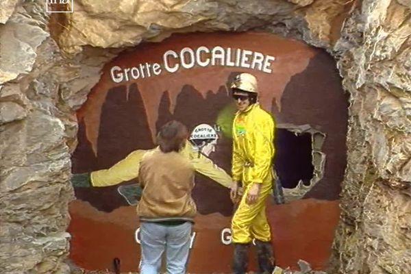 Le 13 mars 1992, Pascal Barrier sort de ses 113 jours passés dans la grotte de la Cocalière