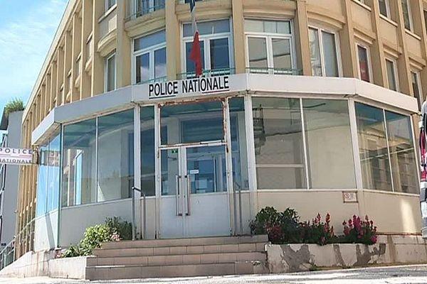 Sète (Hérault) - le commissariat - archives.