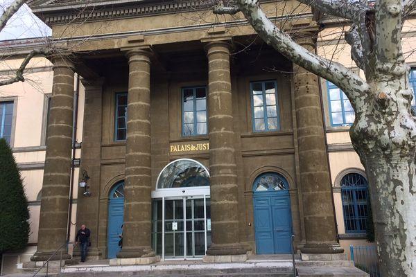 Le tribunal de grande instance du Puy-en-Velay.