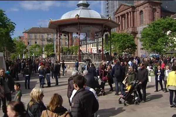 Dans les rues de Belfort, le FIMU attire 80.000 festivaliers