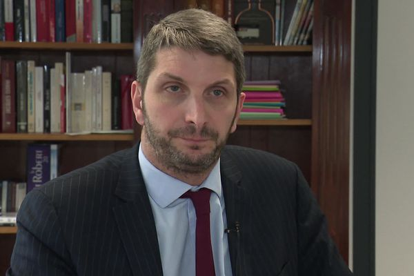 Guillaume Demarcq, avocat du maître d'équipage de chasse à courre.