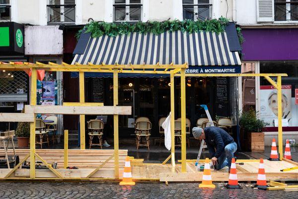 L'ouverture des terrasses permettraient à de nombreux restaurateurs de renouer avec une partie de leur chiffre d'affaires.