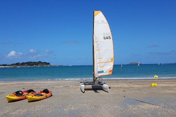 plage du Rougeret à Saint-Jacut-de-la-Mer