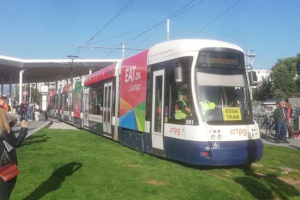 A ne pas confondre avec le Léman Express qui est un train urbain, ce tram desservira les centre-villes d'Annemasse et Genève.