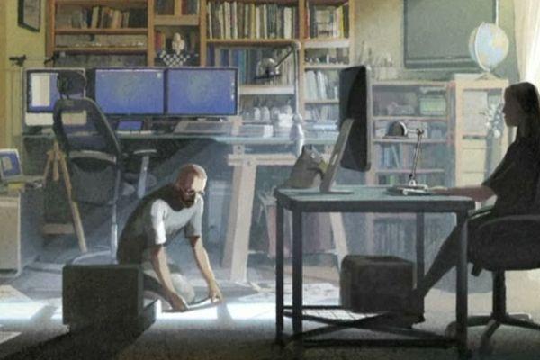 """Dans le troisième tome de """"Abymes"""", Denis Bajram et Valérie Mangin racontent leur rencontre"""