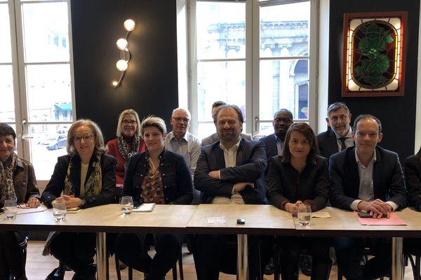 L'équipe de François Deseille le samedi 18 janvier 2020