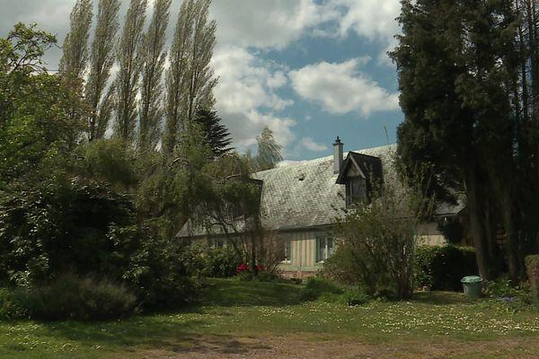 La maison de Jeanine Lenoble à Cormeilles.