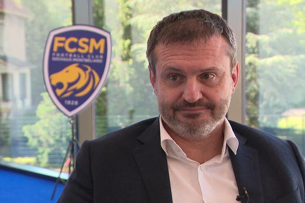 Le directeur général du FC Sochaux Samuel Laurent