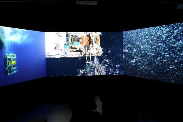 L'exposition a été inaugurée le 13 février à l'Espace Bargemon de la Mairie de Marseille