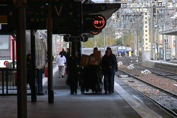 Des perturbations sont à prévoir sur toutes les lignes TER de la région.