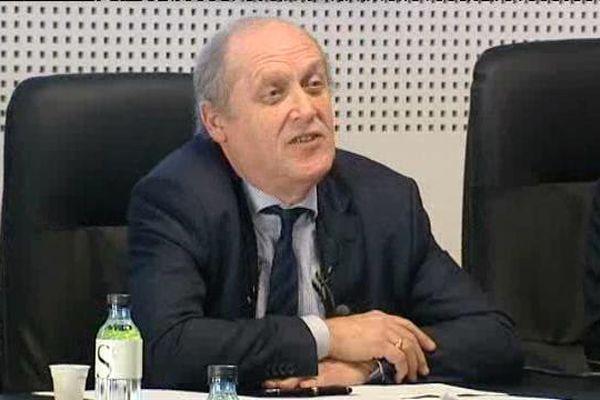 Paul-Marie Romani, président de l'université de Corse jusqu'en mars prochain