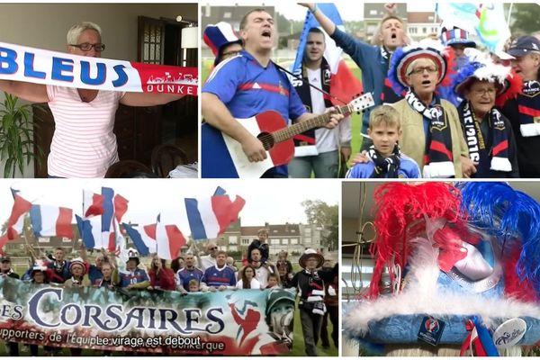 Le club de supporters des Corsaires prêt à s'envoler pour Moscou après avoir enregistré un hymne aux Bleus avec Francis Lalanne