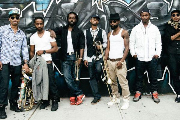 Le Hypnotic Brass Ensemble en live à Fuzz'Yon le 27 avril