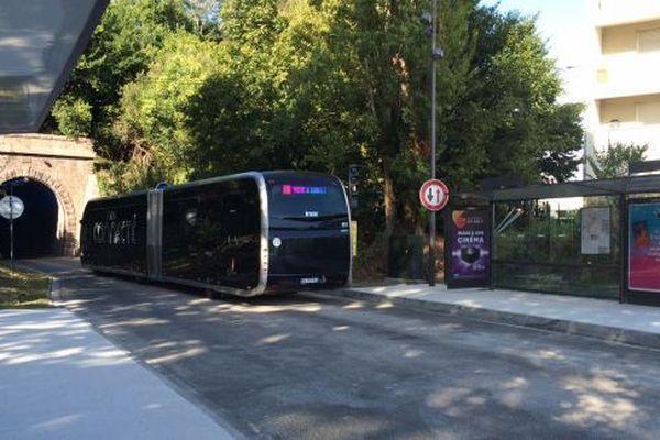 Un tram'bus du réseau de l'agglomération de Bayonne