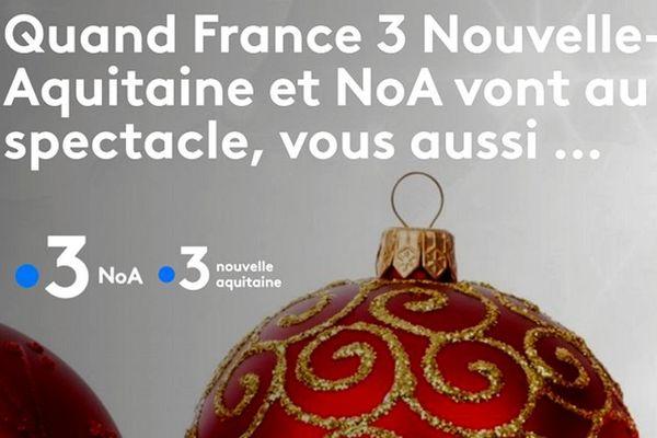 Programme de fêtes sur .3 NoA et France 3 Nouvelle-Aquitaine